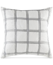 "INK+IVY Gregory 20"" Square Embroidered Decorative Pillow"