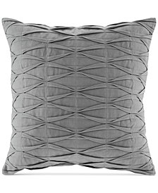 "Natori Nara 18"" Square Pintucked Decorative Pillow"