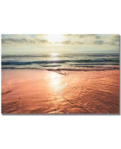Ariane Moshayedi 'Sunset Beach Reflections' 35
