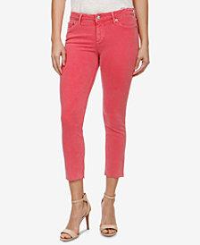 Lucky Brand Lolita Curvy-Fit Frayed-Hem Jeans