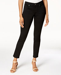Style & Co Ultra-Skinny Ankle Jeans (Black Rinse/Central)