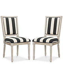 Evina Side Chair (Set of 2), Quick Ship