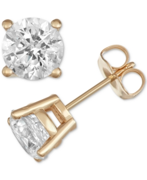 Stud Earrings (2 ct. t.w.) in 14k Gold or White Gold