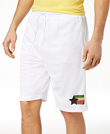LRG Men's High Rankin Basketball Mesh Shorts