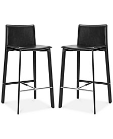 Nilsen Bar Stool (Set Of 2), Quick Ship