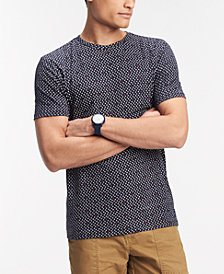 Tommy Hilfiger Men's Allover Star Print T-Shirt, Created for Macy's