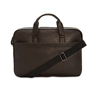 Kenneth Cole Reaction Men's Slim Faux-Leather Briefcase Deals