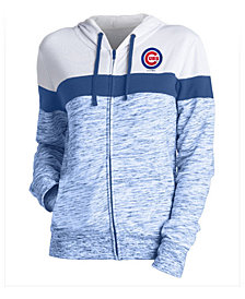 5th & Ocean Women's Chicago Cubs Space Dye Hoodie