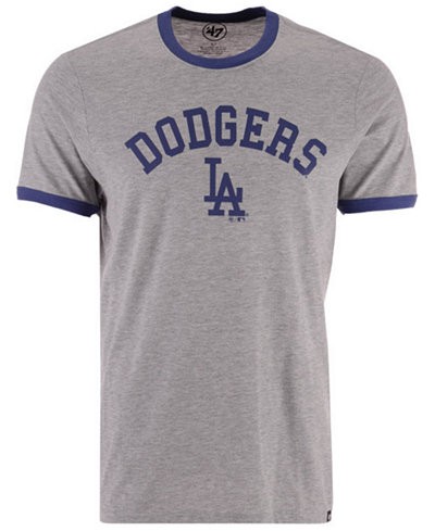'47 Brand Men's Los Angeles Dodgers Capital Ringer T-Shirt