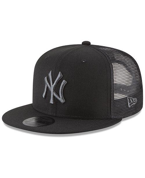 302cf09fcc New Era New York Yankees Blackout Mesh 9FIFTY Snapback Cap   Reviews ...