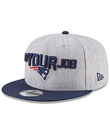 New Era Boys' New England Patriots Draft 9FIFTY Snapback Cap