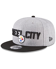 New Era Boys' Pittsburgh Steelers Draft 9FIFTY Snapback Cap