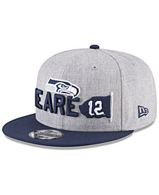 New Era Boys' Seattle Seahawks Draft 9FIFTY Snapback Cap