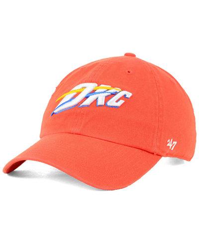 '47 Brand Oklahoma City Thunder Mash Up CLEAN UP Cap