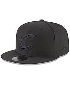 Cleveland Cavaliers Blackout 59FIFTY Fitted Cap