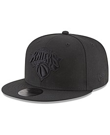 New York Knicks Blackout 59FIFTY Fitted Cap