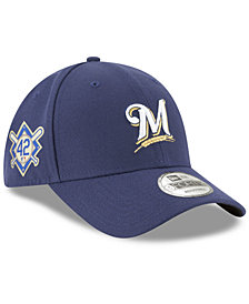 New Era Milwaukee Brewers Jackie Robinson Collection 9FORTY Cap