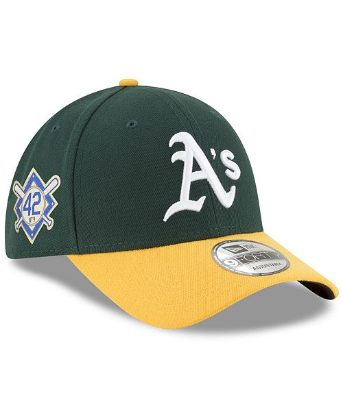 054e359ed ... New Era Oakland Athletics Jackie Robinson Collection 9FORTY Cap ...