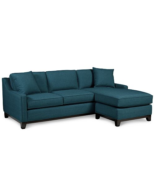 Enjoyable Keegan 90 2 Piece Fabric Reversible Chaise Sectional Sofa Ncnpc Chair Design For Home Ncnpcorg