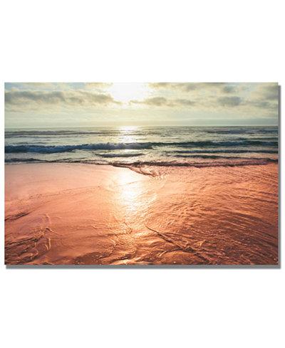 Ariane Moshayedi 'Sunset Beach Reflections' 22