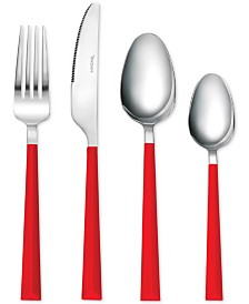 Tomodachi  Hampton Forge Dali 16-Pc. Flatware Set, Service for 4