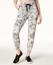 Calvin Klein Performance Floral-Print Joggers