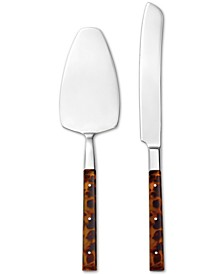 Argent Orfèvres  St Laurent Cake Knife & Server Set