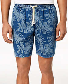 "Tommy Hilfiger Men's Leaf Print 9"" Shorts"
