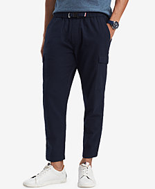 Tommy Hilfiger Men's Wellmont Seersucker Cargo Pants, Created for Macy's
