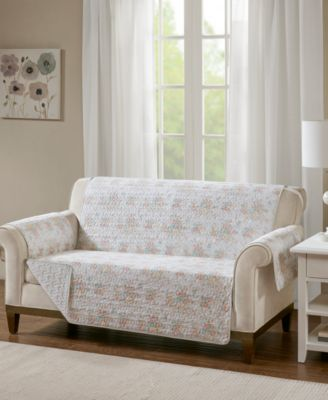 Serendipity Quilted Reversible Printed Loveseat Protector