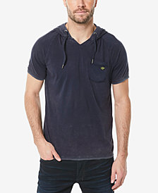 Buffalo David Bitton Men's Kubell Hooded Pocket T-Shirt