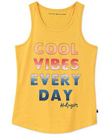 Tommy Hilfiger Cool Vibes Cotton Tank Top, Big Girls