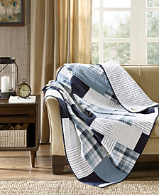 "Woolrich Riverview Reversible 50"" x 70"" Quilted Throw"