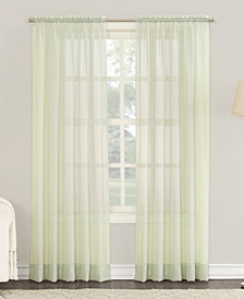 "Lichtenberg No. 918 Sheer Voile 59"" x 63"" Rod Pocket Curtain Panel"