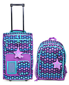 Olivet International Crckt Kids 2-Pc. Printed Carry-On Suitcase & Backpack Set