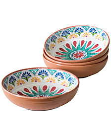 TarHong Rio Medallion Cereal Bowls, Set of 4
