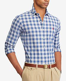 Polo Ralph Lauren Men's Slim Fit Plaid Shirt