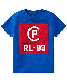 Polo Ralph Lauren Toddler Boys CP-93 Crew-Neck Cotton T-Shirt