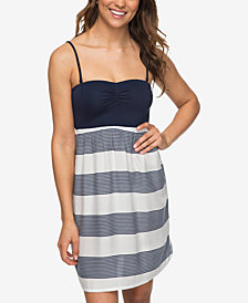 Roxy Juniors' Striped A-Line Dress