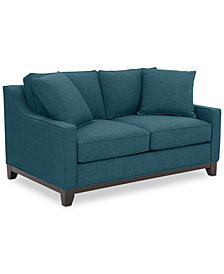"Keegan 59"" Fabric Loveseat, Created for Macy's"