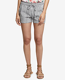 Sanctuary Striped Linen Shorts