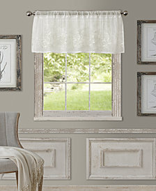 "Elrene Sheer Addison 60"" x 17"" Window Valance"