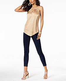 Thalia Sodi Halter Top & Jeggings, Created for Macy's