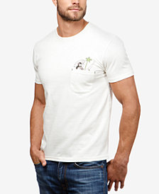 Lucky Brand Men's Hula Girl Pocket T-Shirt