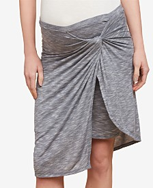 Jessica Simpson Maternity Twist-Front Skirt