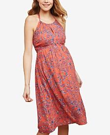 Jessica Simpson Maternity Printed Dress