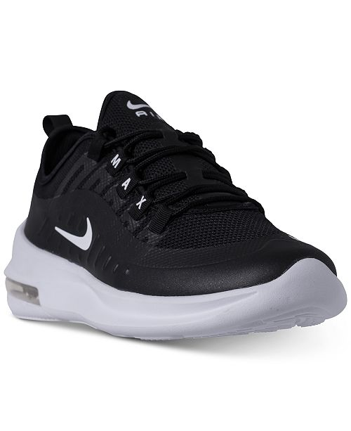 new style 6298f 6ee8b Nike Men s Air Max Axis Casual Sneakers from Finish ...