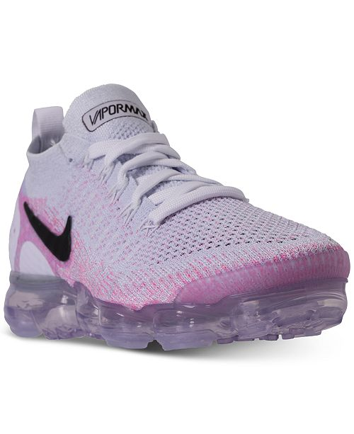 1aa6730694a12 ... Nike Women s Air VaporMax Flyknit 2 Running Sneakers from Finish ...