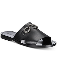 Roberto Cavalli Men's Giamaica Leather Sandals