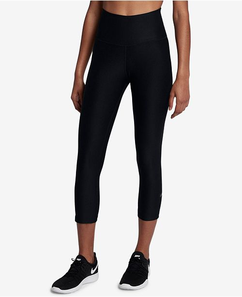b78a7b07b37e2 Nike Sculpt Power Cropped Compression Workout Leggings   Reviews ...
